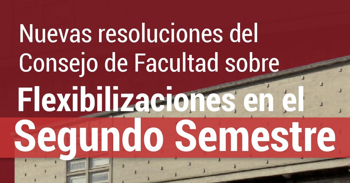 Nuevas resoluciones para el 2do semestre 2021